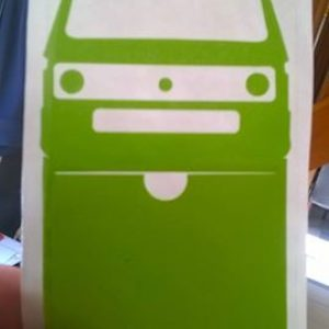 Stickers étui assurance t3 transporter