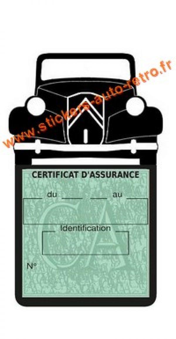 Porte assurance Traction B15 Citroen